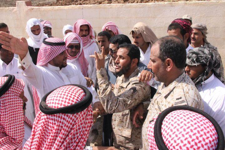 تشييع جثمان الشهيد أحمد العسيري بحميد العلايا (4)