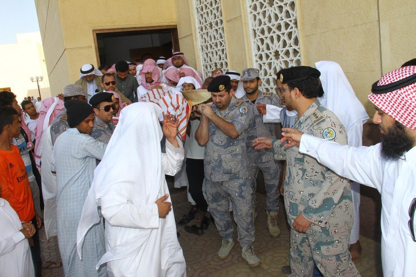 تشييع جثمان الشهيد خالد الشبيلي (2)