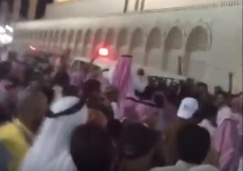 تشييع شهداء تفجير مسجد المدينة المنورة
