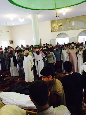 تشييع 7 شهداء من المقاومة اليمنية 2