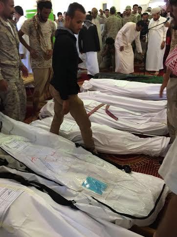 تشييع 7 شهداء من المقاومة اليمنية 3