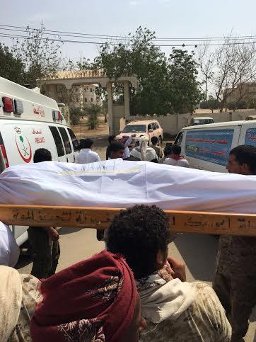 تشييع 7 شهداء من المقاومة اليمنية 6