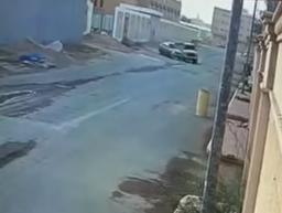 تصاد سيارتين بالخرج