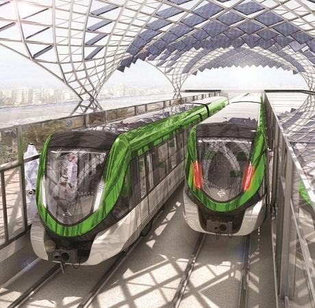 تصميم قطار الرياض