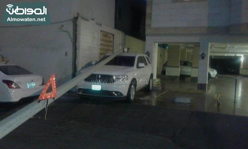 تضرر سيارة جدة3