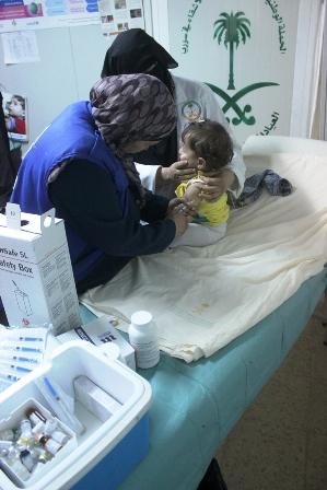 تطعيم السوريين (2)