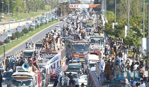 تظاهرات-باكستان