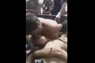 تعذيب مليشيا الحشد للنازحين من الموصل