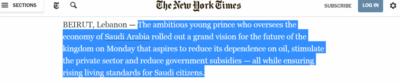 تعرف على الأوصاف التي أطلقها الإعلام الدولي على محمد بن سلمان والرؤية السعودية (31195652) 