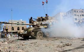 اشتباكات عنيفة بين الحرس الجمهوري وميليشيات الحوثي غرب تعز - المواطن