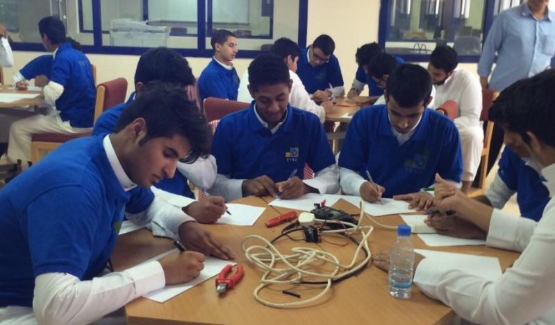 تعليم وعمل بعسير طلاب