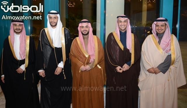 تغطية صحيفة المواطن زواج الأمير ماجد بن فهد (1) 