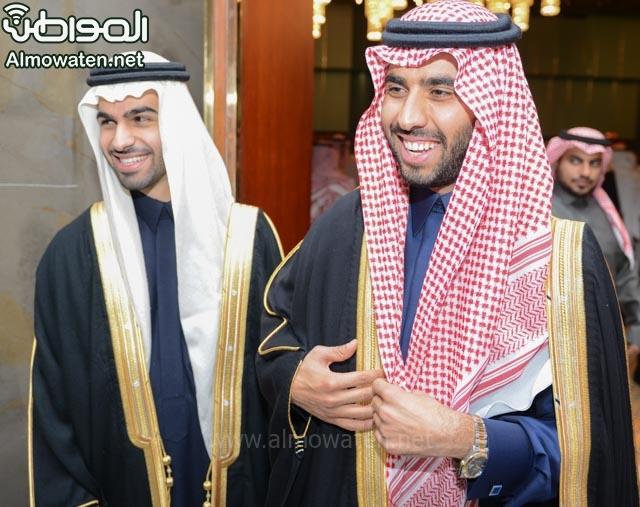 تغطية صحيفة المواطن زواج الأمير ماجد بن فهد (92075382) 