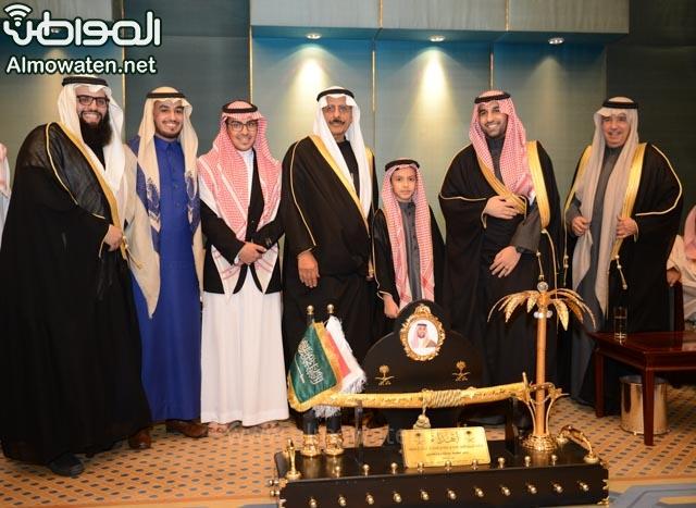 تغطية صحيفة المواطن زواج الأمير ماجد بن فهد (92075387) 