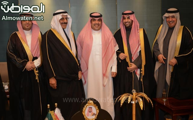 تغطية صحيفة المواطن زواج الأمير ماجد بن فهد (92075389) 