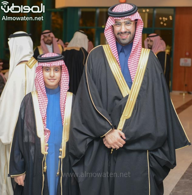 تغطية صحيفة المواطن زواج الأمير ماجد بن فهد (92075390) 