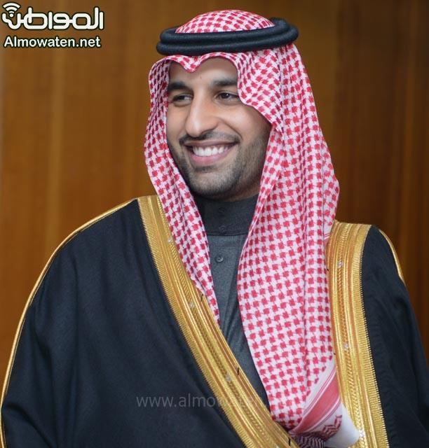 تغطية صحيفة المواطن زواج الأمير ماجد بن فهد (92075393) 