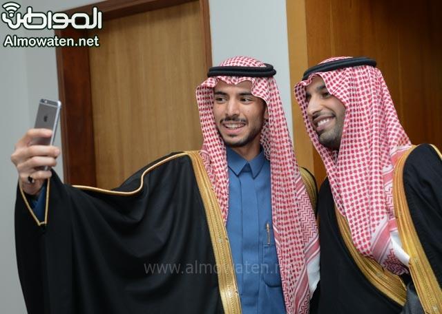 تغطية صحيفة المواطن زواج الأمير ماجد بن فهد (92075394) 