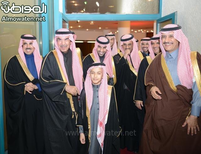 تغطية صحيفة المواطن زواج الأمير ماجد بن فهد (92075398) 