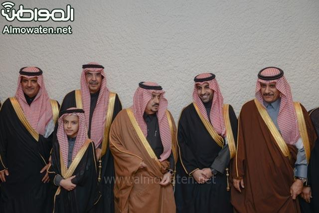 تغطية صحيفة المواطن زواج الأمير ماجد بن فهد (92075400) 