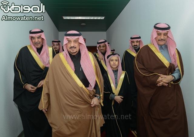 تغطية صحيفة المواطن زواج الأمير ماجد بن فهد (92075401) 