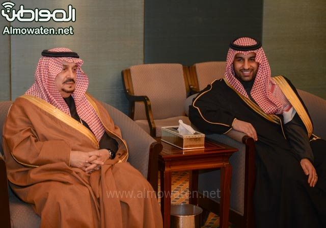 تغطية صحيفة المواطن زواج الأمير ماجد بن فهد (92075403) 