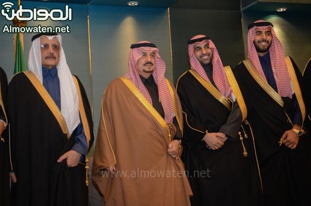 تغطية صحيفة المواطن زواج الأمير ماجد بن فهد (92075406) 