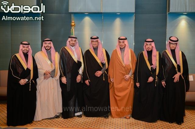 تغطية صحيفة المواطن زواج الأمير ماجد بن فهد (92075410) 