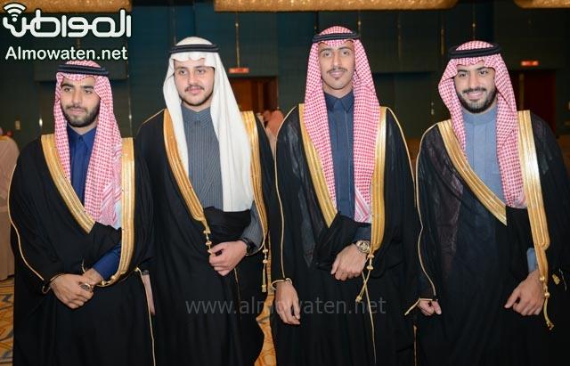 تغطية صحيفة المواطن زواج الأمير ماجد بن فهد (92075411) 