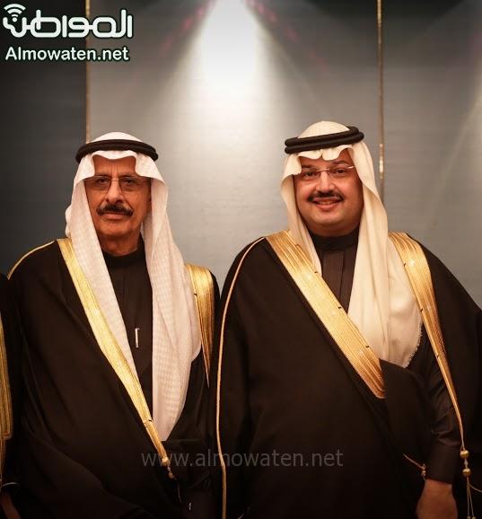 تغطية صحيفة المواطن زواج الأمير ماجد بن فهد (92075417) 