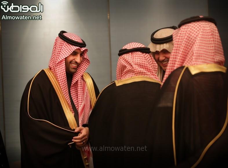 تغطية صحيفة المواطن زواج الأمير ماجد بن فهد (92075418) 
