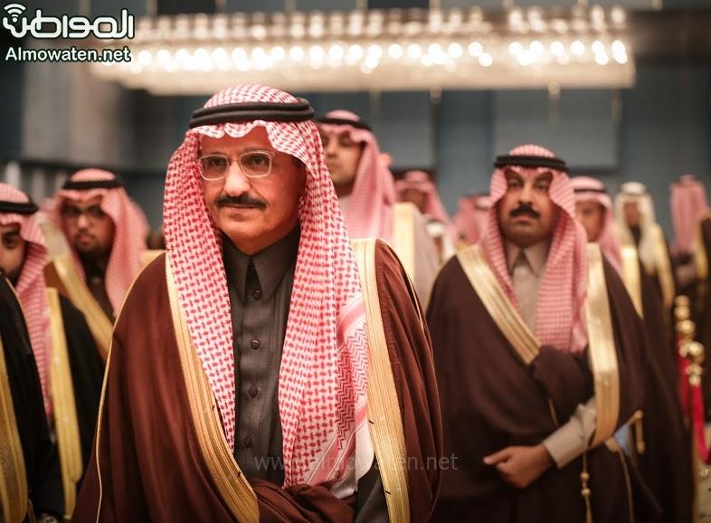 تغطية صحيفة المواطن زواج الأمير ماجد بن فهد (92075419) 