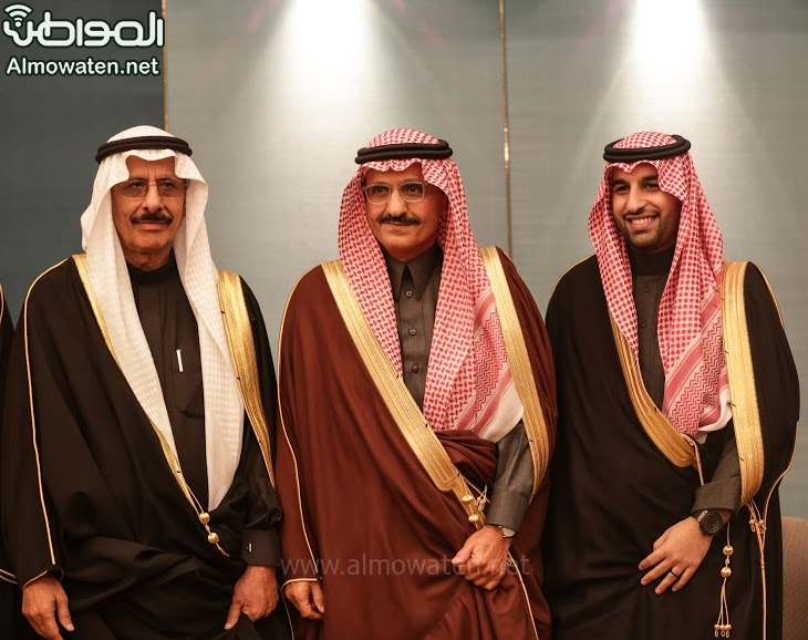 تغطية صحيفة المواطن زواج الأمير ماجد بن فهد (92075420) 