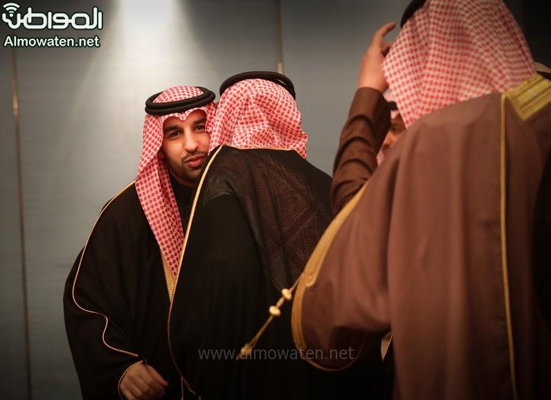 تغطية صحيفة المواطن زواج الأمير ماجد بن فهد (92075422) 