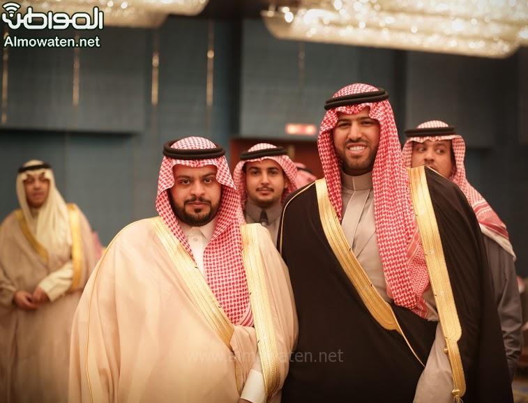 تغطية صحيفة المواطن زواج الأمير ماجد بن فهد (92075428) 