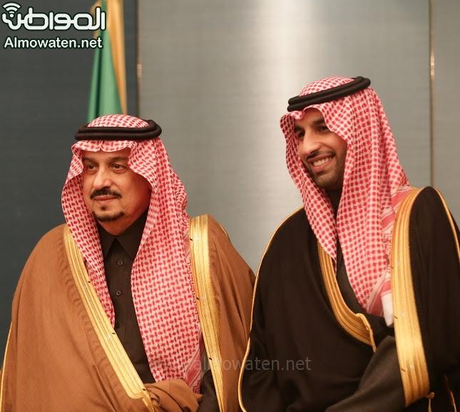 تغطية صحيفة المواطن زواج الأمير ماجد بن فهد (92075434) 