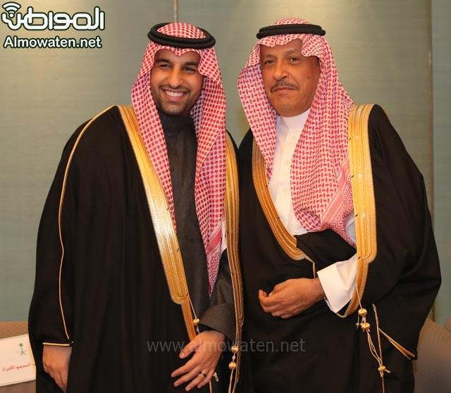 تغطية صحيفة المواطن زواج الأمير ماجد بن فهد (92075438) 