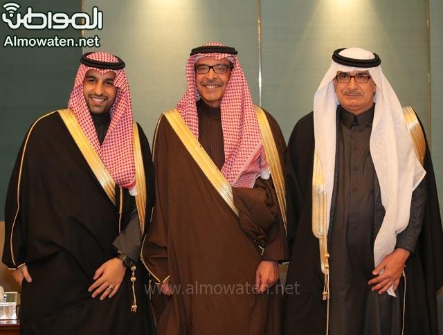 تغطية صحيفة المواطن زواج الأمير ماجد بن فهد (92075439) 