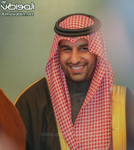 تغطية صحيفة المواطن زواج الأمير ماجد بن فهد (92075450) 