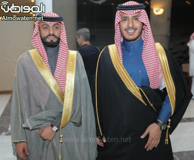 تغطية صحيفة المواطن زواج الأمير ماجد بن فهد (92075462) 
