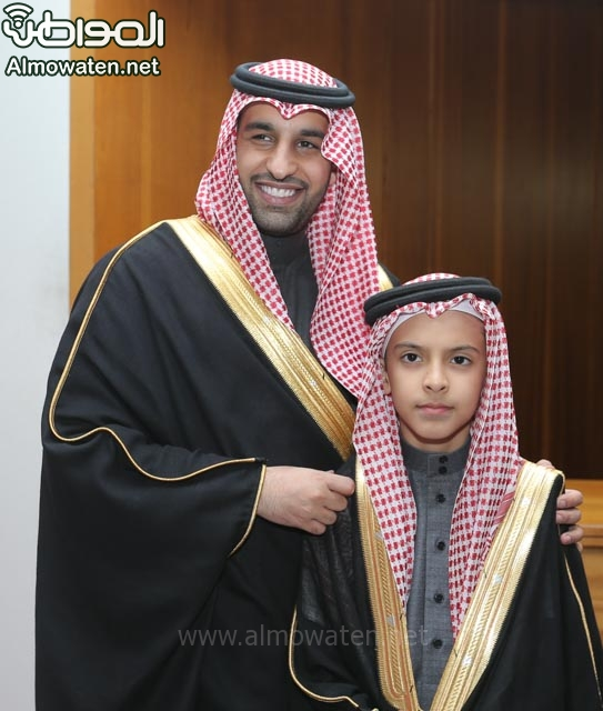 تغطية صحيفة المواطن زواج الأمير ماجد بن فهد (92075464) 