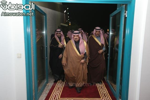 تغطية صحيفة المواطن زواج الأمير ماجد بن فهد (92075466) 