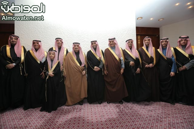 تغطية صحيفة المواطن زواج الأمير ماجد بن فهد (92075467) 