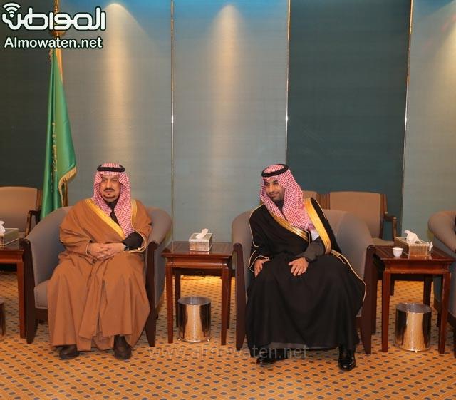 تغطية صحيفة المواطن زواج الأمير ماجد بن فهد (92075468) 