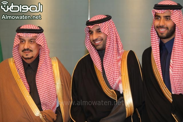 تغطية صحيفة المواطن زواج الأمير ماجد بن فهد (92075473) 