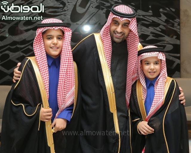 تغطية صحيفة المواطن زواج الأمير ماجد بن فهد (92075478) 