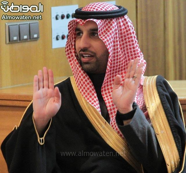 تغطية صحيفة المواطن زواج الأمير ماجد بن فهد (92075480) 