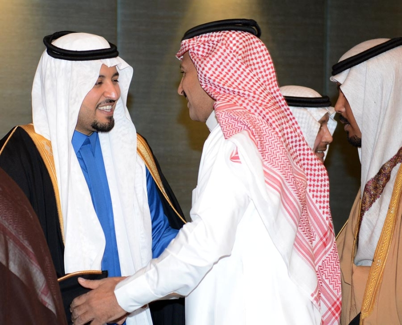تغطية صحيفة المواطن زواج الأمير ماجد بن مساعد (1) 