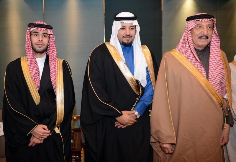 تغطية صحيفة المواطن زواج الأمير ماجد بن مساعد (91385902) 