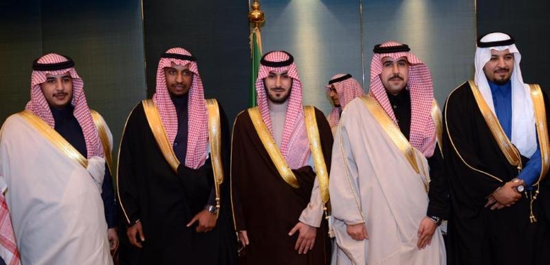 تغطية صحيفة المواطن زواج الأمير ماجد بن مساعد (91385903) 